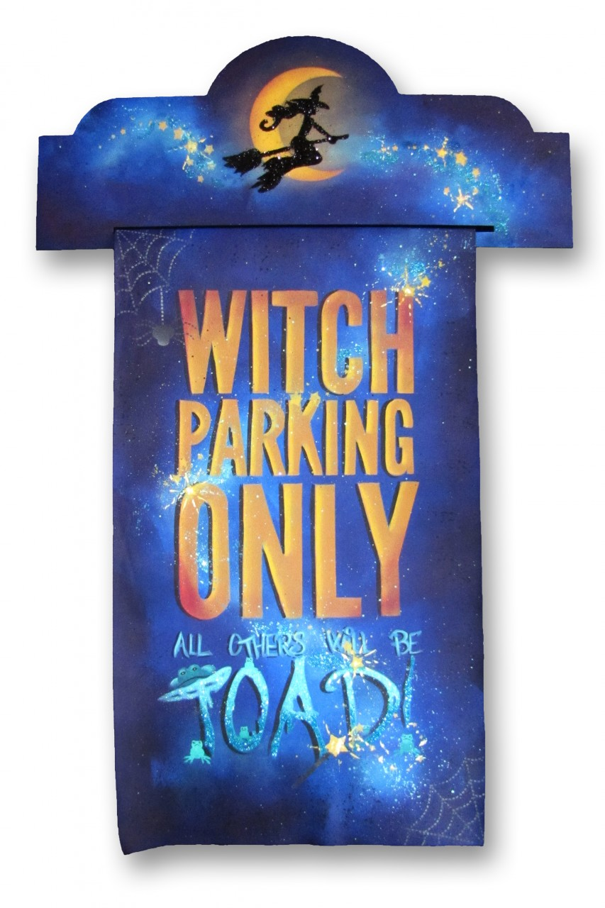 Witch Parking Only DVD & Pattern Packet - Patricia Rawlinson
