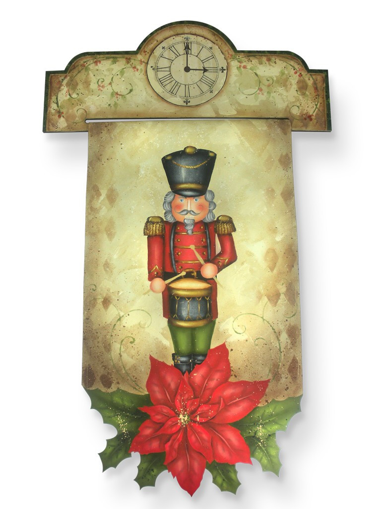 Poinsettia Nutcracker DVD & Pattern Packet - Patricia Rawlinson