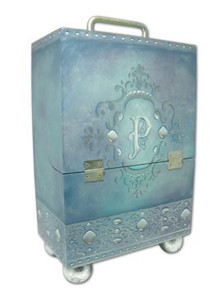 Enchanted Brush Carriage DVD & Pattern Packet - Patricia Rawlinson