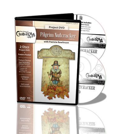 Pilgrim Nutcracker DVD & Pattern Packet - Patricia Rawlinson