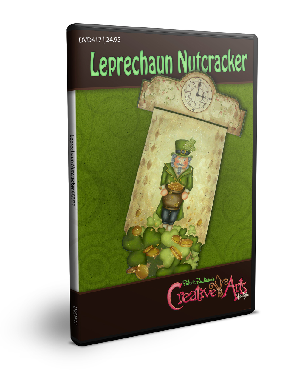 Leprechaun Nutcracker DVD & Pattern Packet - Patricia Rawlinson