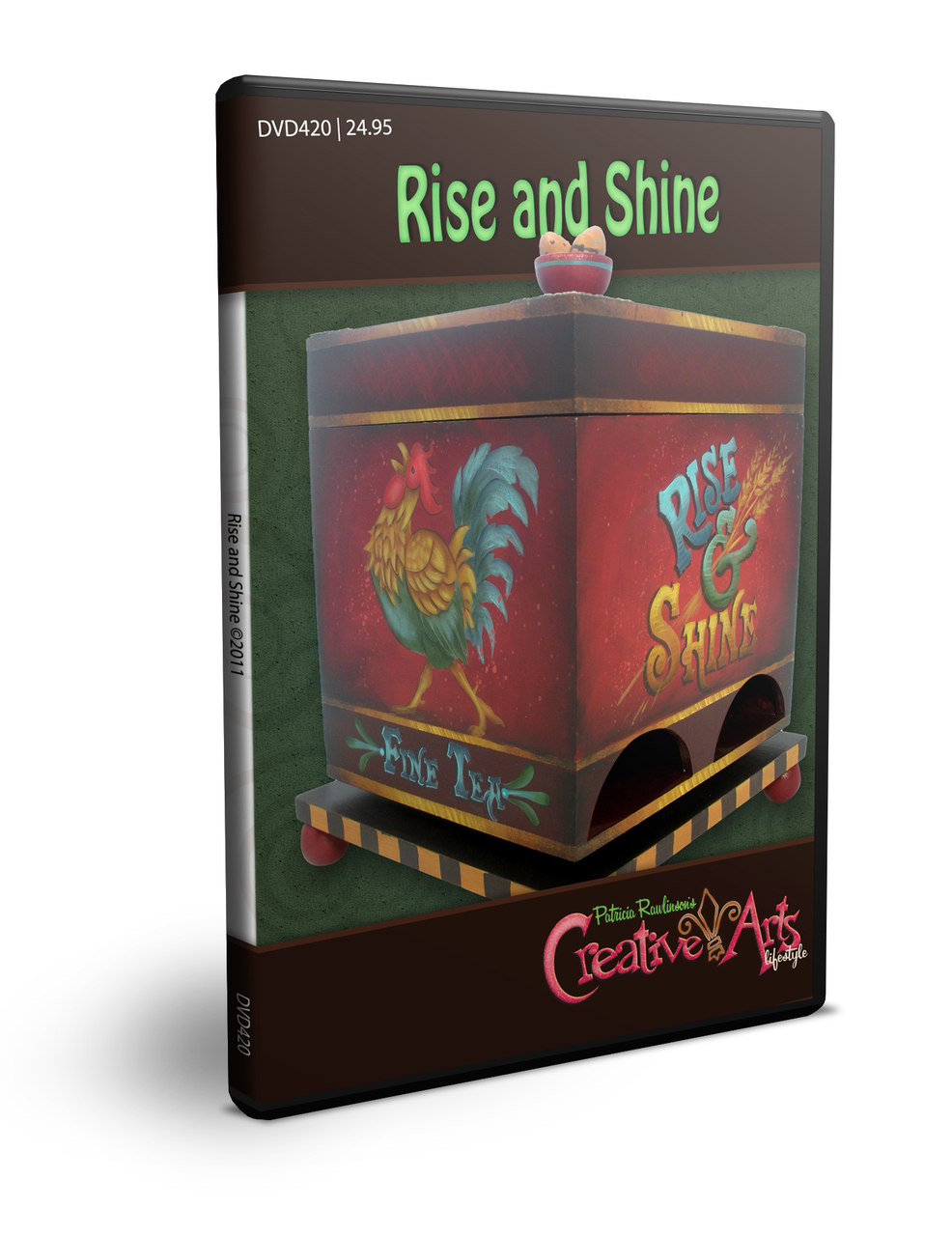 Rise and Shine DVD & Pattern Packet - Patricia Rawlinson