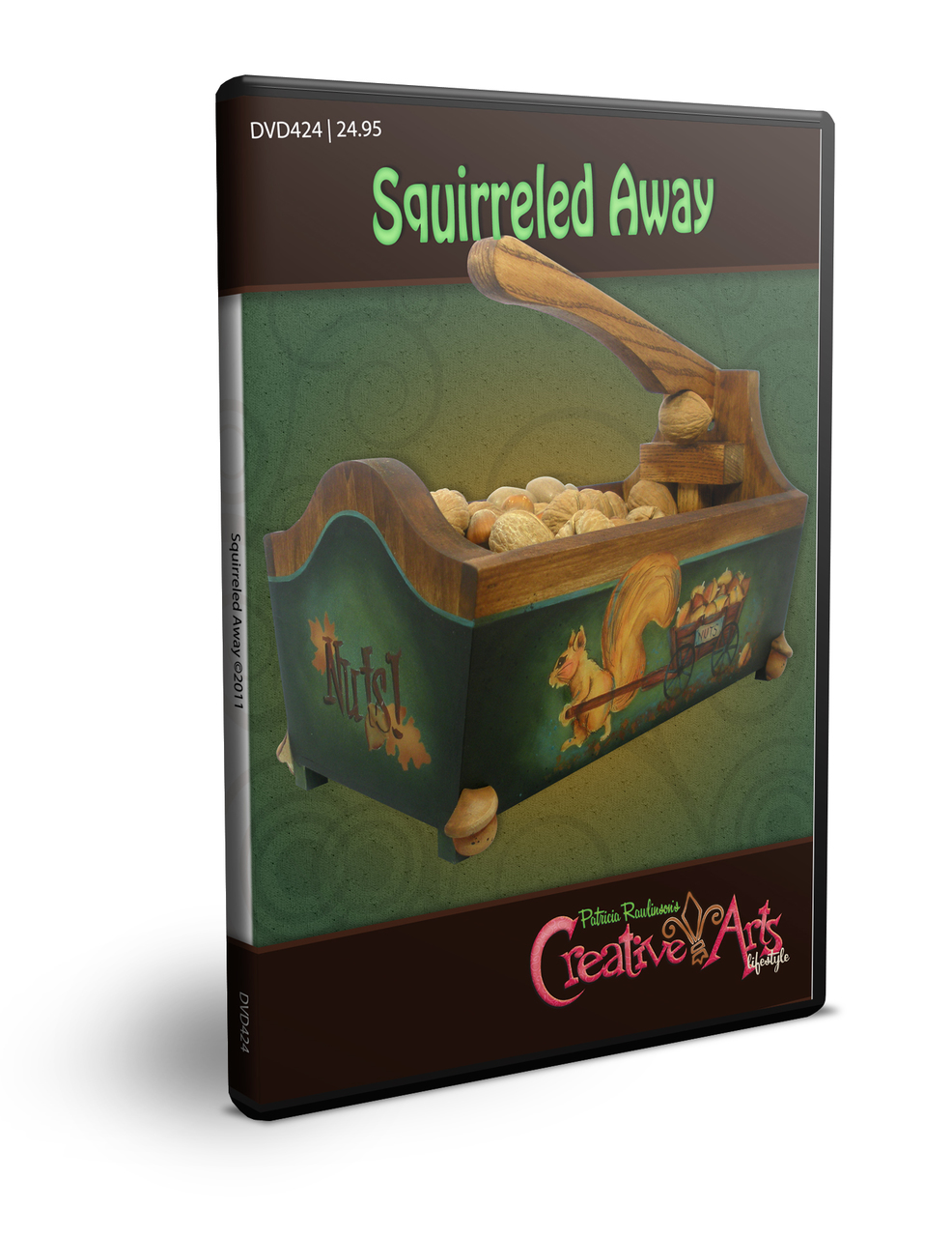 Squirreling Away DVD & Pattern Packet  - Patricia Rawlinson