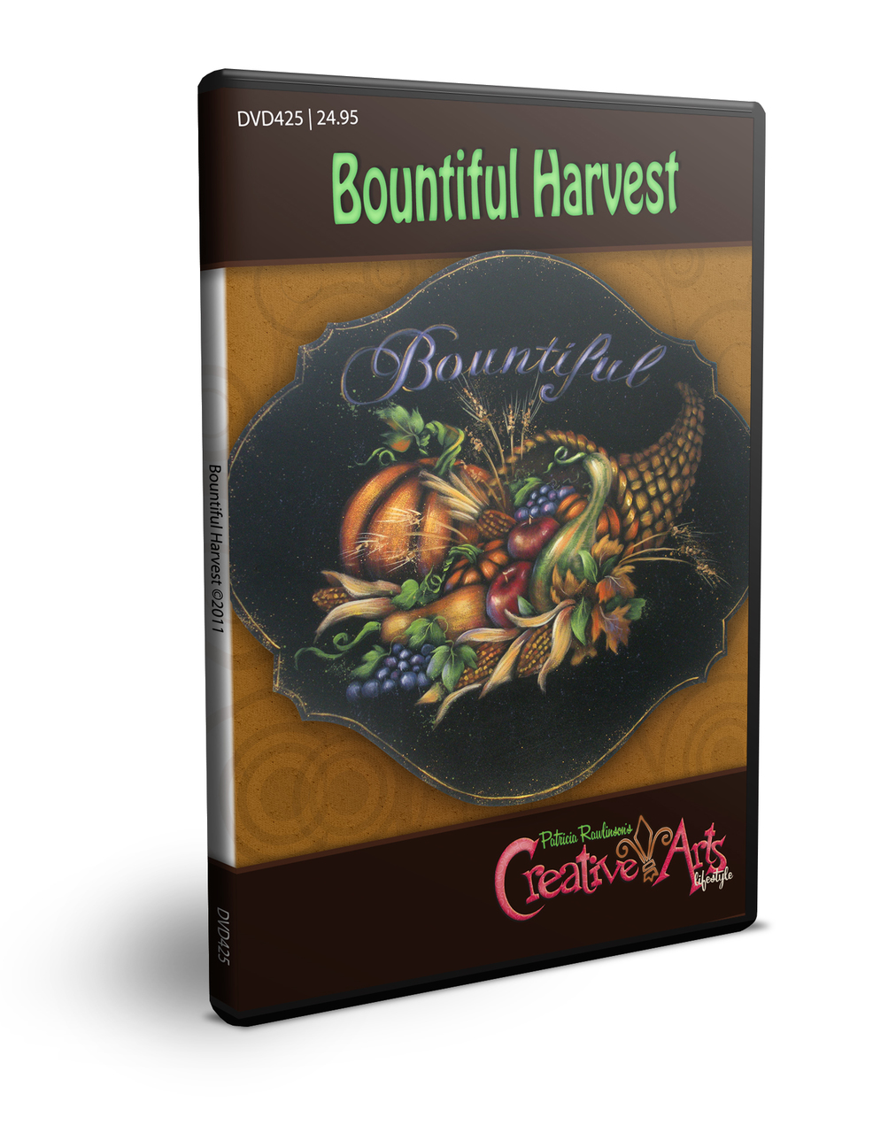 Bountiful Harvest DVD & Pattern Packet - Patricia Rawlinson