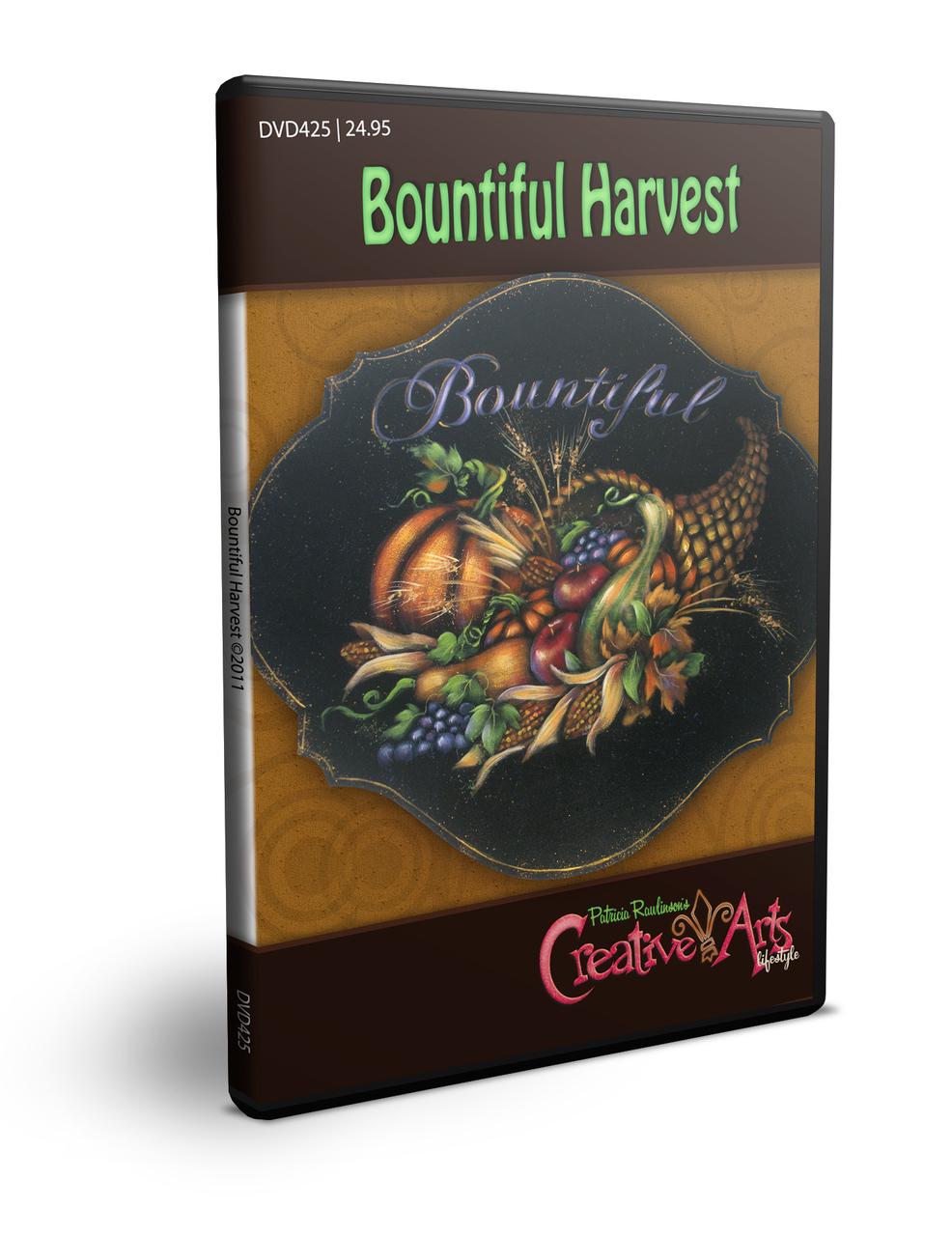 Bountiful Harvest DVD & Pattern Packet - Patricia Rawlinson