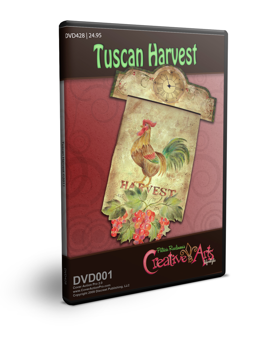 Tuscan Harvest DVD & Pattern Packet - Patricia Rawlinson
