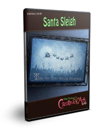 Santa Sleigh DVD & Pattern Packet - Patricia Rawlinson