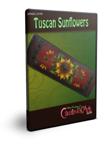 Tuscan Sunflower DVD & Pattern Packet - Patricia Rawlinson