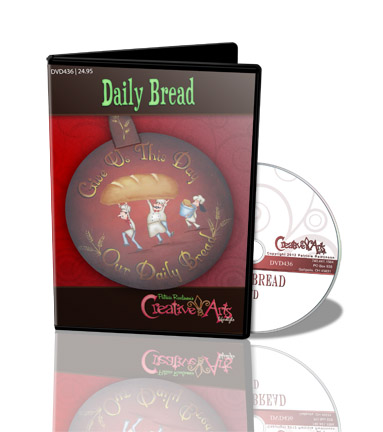 Daily Bread DVD & Pattern Packet - Patricia Rawlinson
