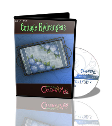 Cottage Hydrangeas DVD & Pattern Packet - Patricia Rawlinson