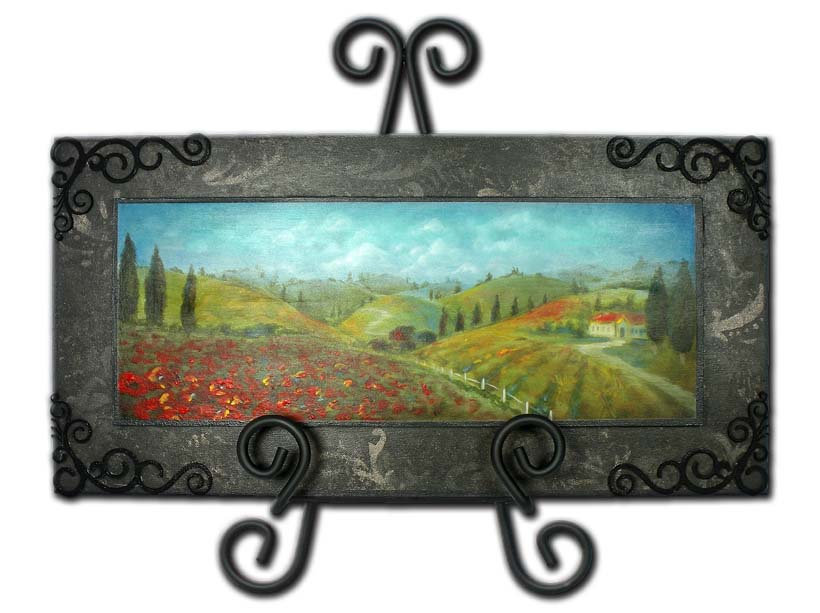 Tuscan Countryside DVD & Pattern Packet - Patricia Rawlinson