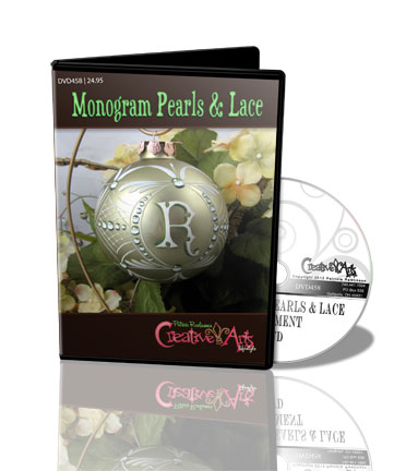 Monogram Pearls & Lace DVD & Pattern Packet - Patricia Rawlinson