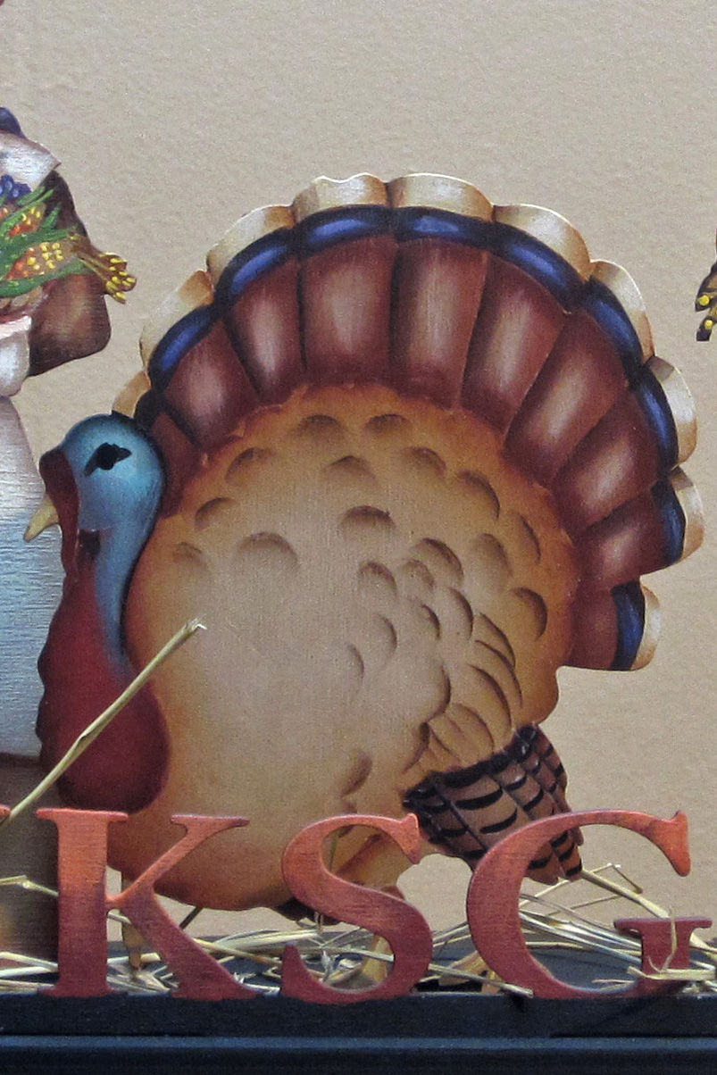 Thanksgiving & Bounty Centerpiece DVD & Pattern Packet - Patricia Rawlinson