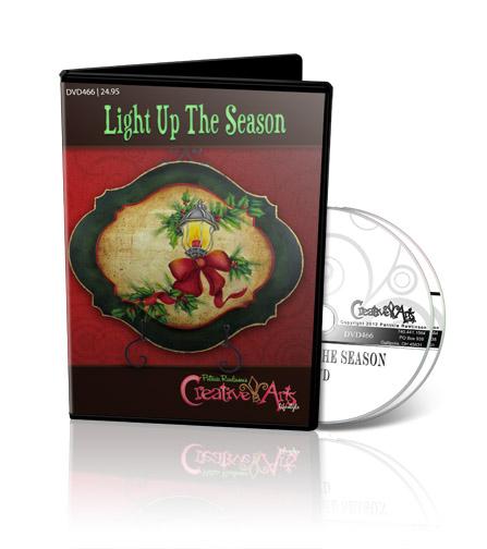 Light Up the Season DVD & Pattern Packet - Patricia Rawlinson