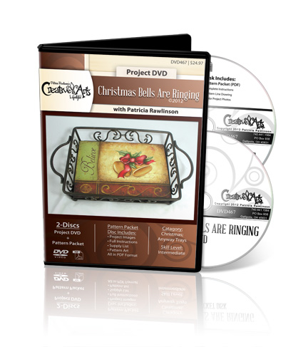 Christmas Bells are Ringing DVD & Pattern Packet - Patricia Rawlinson