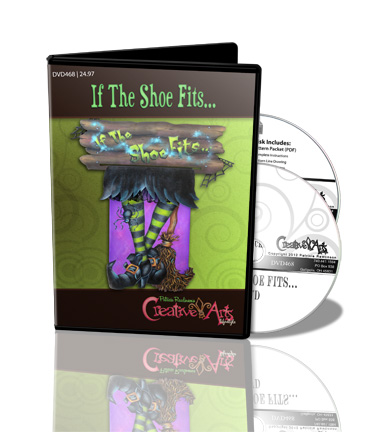 If the Shoe Fits DVD & Pattern Packet - Patricia Rawlinson
