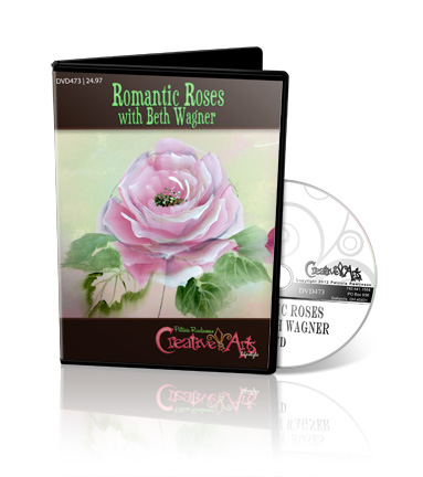 Romantic Roses with Beth Wagner DVD - Patricia Rawlinson
