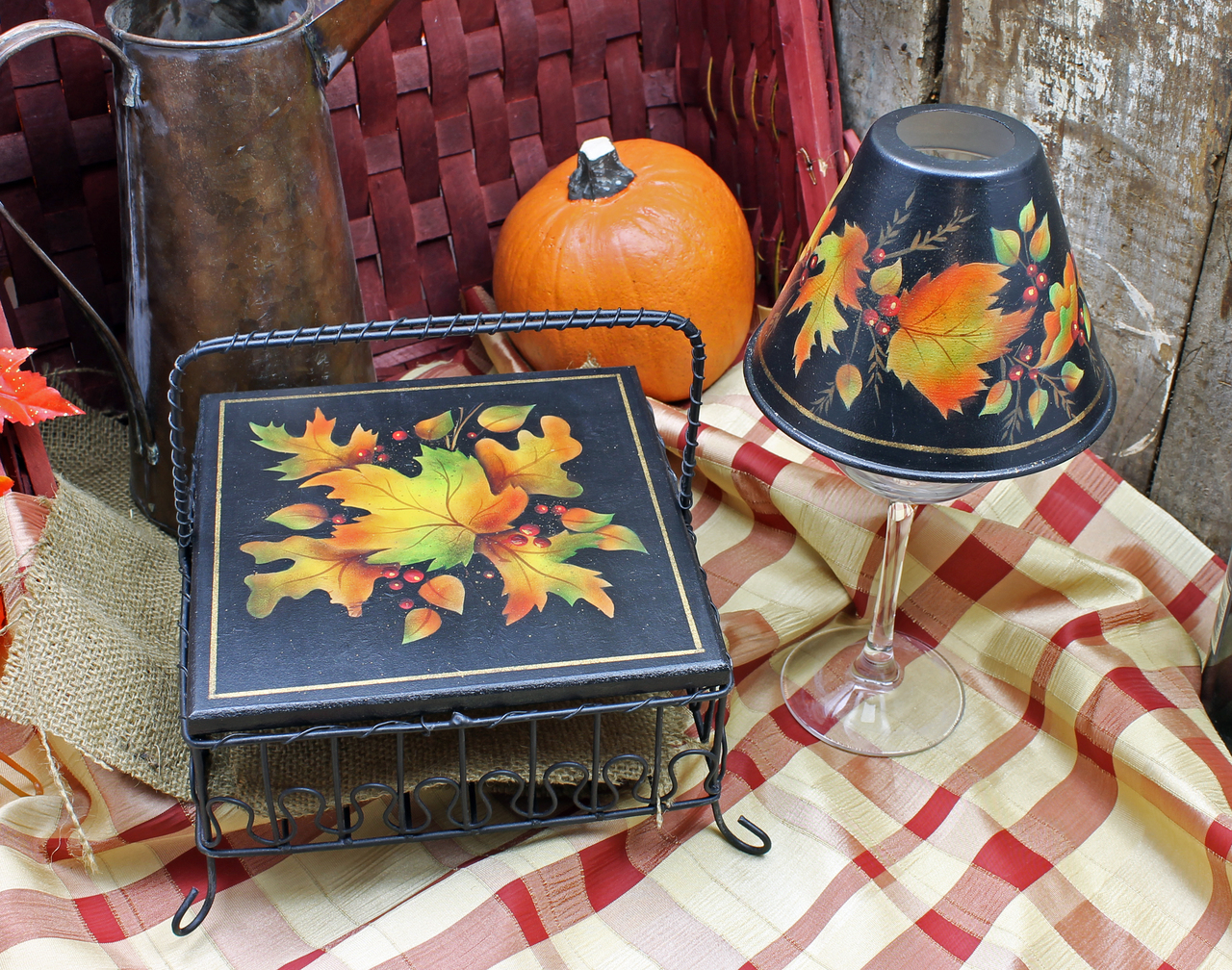 Fall Leaves Collection DVD & Pattern Packet - Patricia Rawlinson