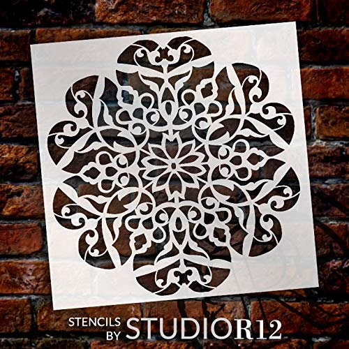 Mandala Pumpkin Stencil Reusable Mylar Stencils for Painting