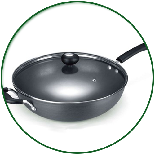 Non-Stick Hard Anodized Cookware