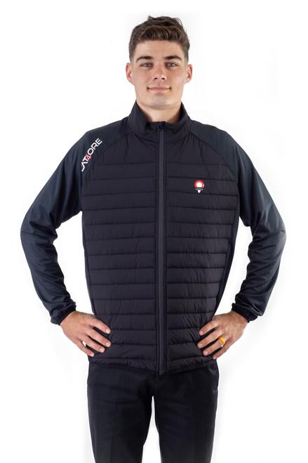 Men's Hybrid Full Zip Golf Jacket