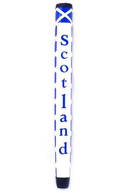 Front view of Scotland Flag Putter Grip