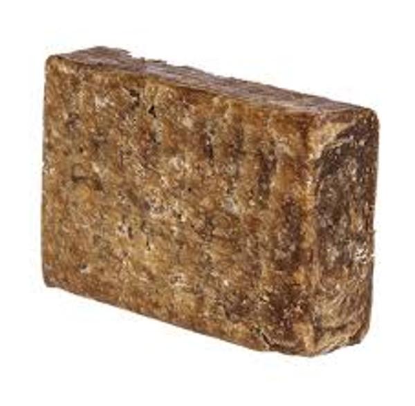 Raw African Black Soap 7 oz.