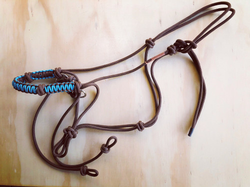 Bitless Riding Halter- Indian Hackamore Style