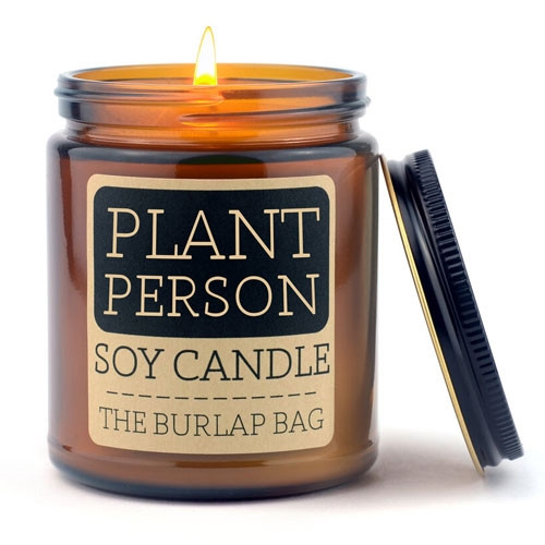 Plant Person Soy Candle