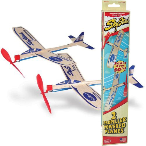 Guillow's Sky Streak Propeller Planes - 2 Pack
