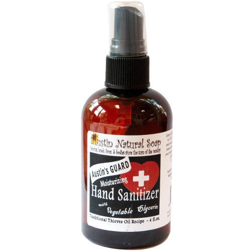 Thieves Oil Hand Sanitizer For the Bubonic Plague