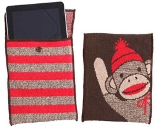 Sock Monkey iPad & Kindle Bag