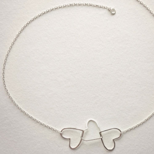 Link of Love Heart Necklace