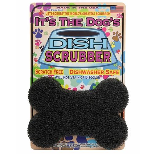 Dog's Dish Scrubber