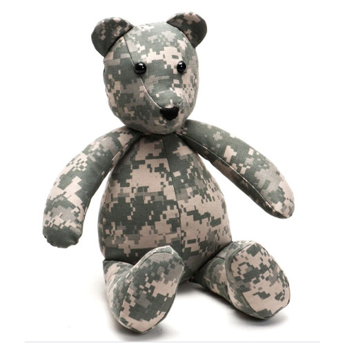 Teddy Bear Made From Your Military Uniform