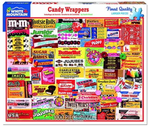 Candy Wrappers Jigsaw Puzzle - 1000 pieces