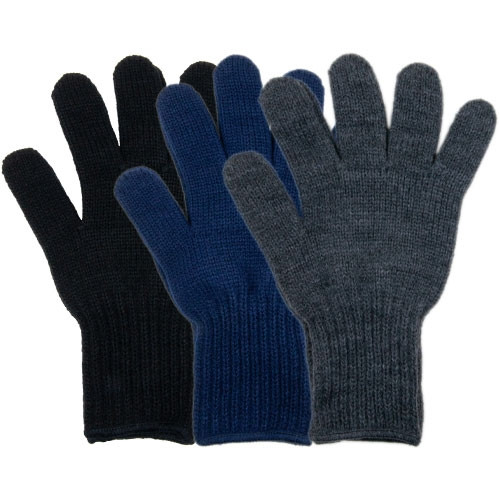 Men's and Women's Acrylic Gloves - 3 Colors