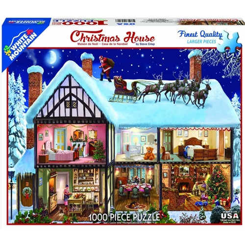 Christmas House - 1000 pieces