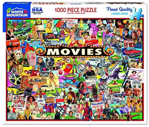 Movies Jigsaw Puzzle - 1000 pieces
