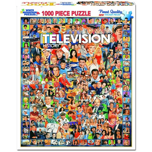 Television History - 1000 pieces