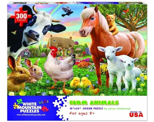 Farm Animals - 300 pieces