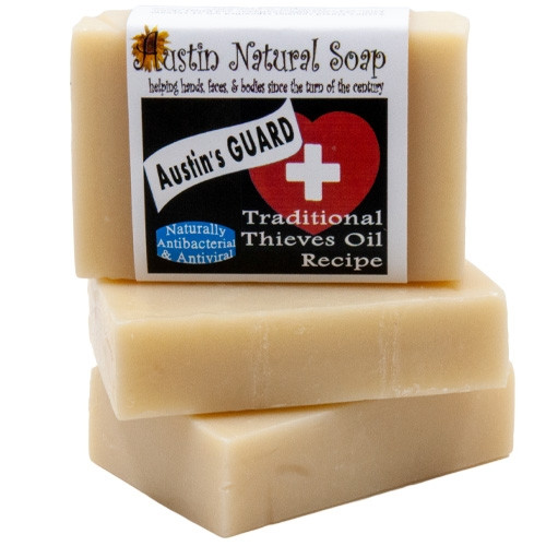 Thieves Oil Soap For the Bubonic Plague