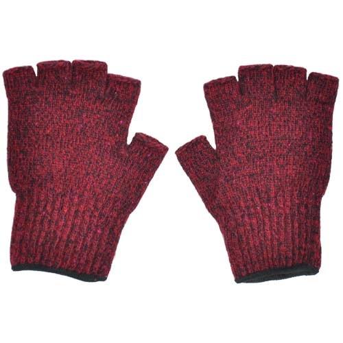 Ragg Wool Fingerless Gloves- 3 Colors