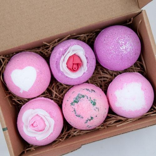 Bath Bomb Gift Set - 6 Pack