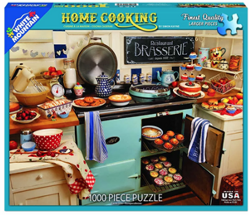 Home Cooking Jigsaw Puzzle - 1000 pieces