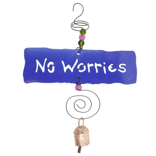 No Worries Affirmation Chime
