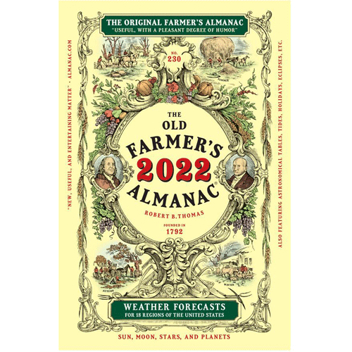 2022 Farmer's Almanac