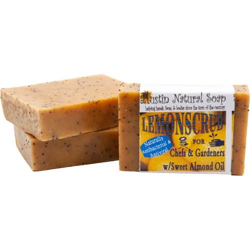 Lemon Scrub Soap for Gardeners & Chefs