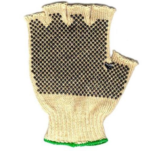 Hemp Fingerless Gripper Gloves