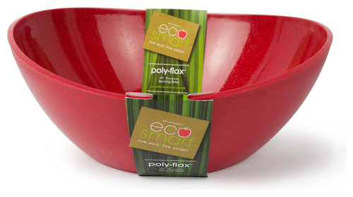 Eco Poly Flax Serving Bowls